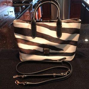 Dooney and Bourke leather handbag.